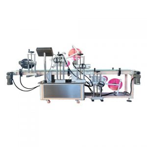 Automatic Flat Labeling Machine For Ink Cartridge