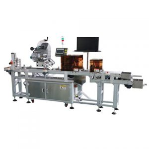 Automatic Flat Hang Tag Labeling Applicator