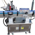 Egg Carton Labeling Machine With Feeding Device