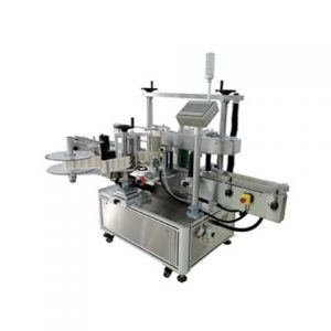 Flat Bottle Labeling Machine Flat Label Machine