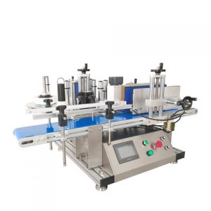 Food Box Top Labeling Machine
