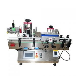Milk Glass Bottle Labeling Machine