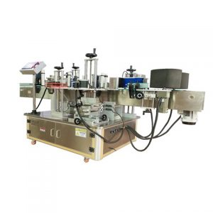 Bucket Drum Labeling Machine With Ampoule Sticker