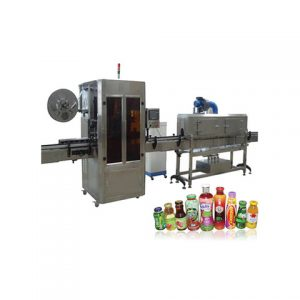 Garbage Bag Roll Wrapping Labeling Machine