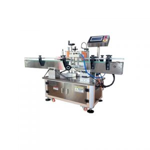Auto Cosmetic Plastic Round Bottle Labeling Machine