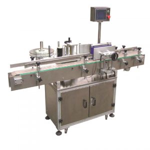 Customizable Plastic Bottle Stickers Wet Glue Labeling Machine