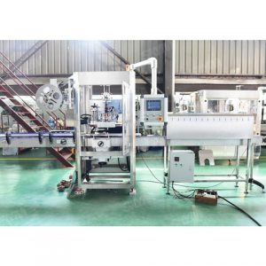 Cigarette Case Labeling Machine