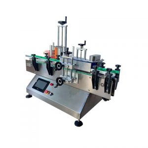 Pouchbag Magazine Top Labeling Machine With Batch Inkjet