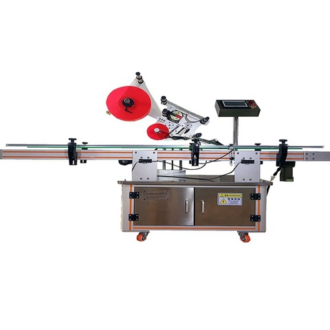 horizontal labeling machine for ham sausage food labeller ...