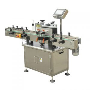 Plc Controlled Double Sides Pet Bottle Labeling Machine