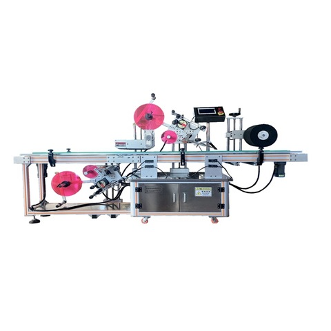 MT-200 Automatic Round Bottle Labeling Machine Glass ...