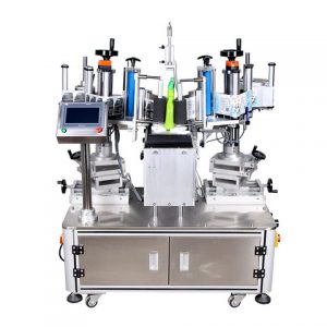 5l Fixed Position Oil Bottle Labeling Machine