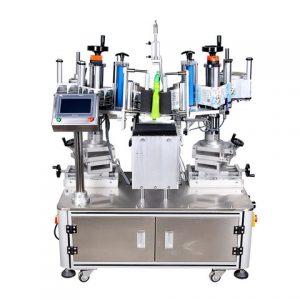 Bottom Labeling Machine With Feeder