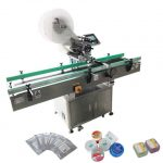 Automatic Adhesive Sticker Wine Round Bottle Labeling Machine