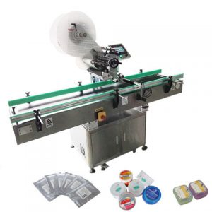 Auto Paper Bag Labeling Machine