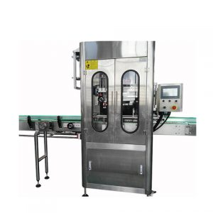 Automatic Can Glass Metal Bottle Paste Label Machine