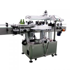 Tea Bag Pouch Sticker Labeling Machine With Paging