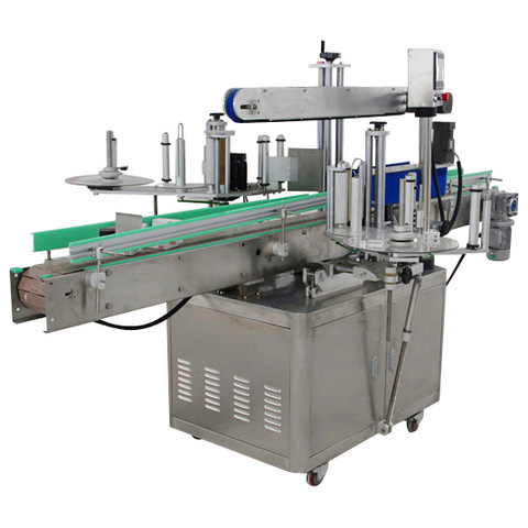 MT-220 Flat bottle/Can Lid capping Labeling Machine Self ...
