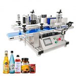 Auto Sticker Whisky Cans Bottle Labeling Machine