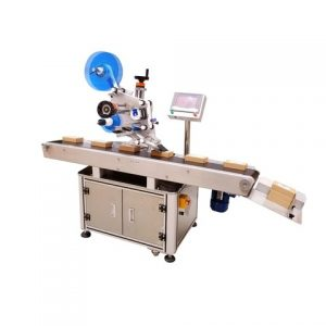 Round Bucket Sticker Labeling Machine