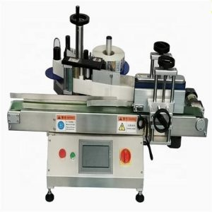 Automatic Round Bottle Self Adhesive Sticking Labeling Machine