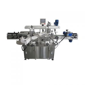 Automatic Plastic Bag Bag Double Side Labeling Machine