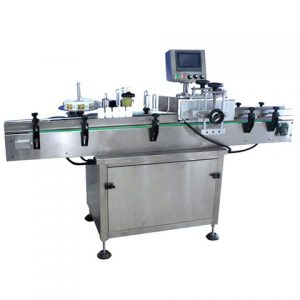 Paging Top Side Vacuum Foil Bag Labeling Machine