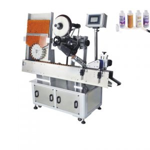 Card Labeling Machine Flat Label Applicators For Bags