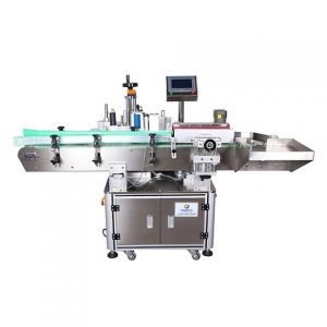 Automatic Flat And Square Glass Bottle Labeller