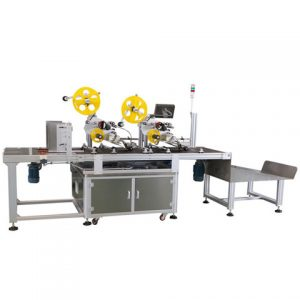 Cake Box Top Side Sticker Labeling Machine