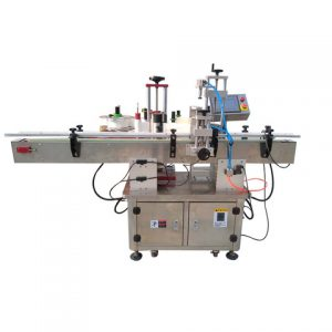 High Speed Double Sides Adhesive Sticker Labeling Machine