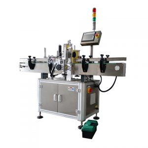 Jar Self Adhesive Sticker Labeling Machine