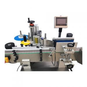 Cheese Box Bottom Labeling Machine