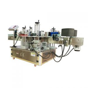 Auto Two Sides Bottle Labeling Machine China