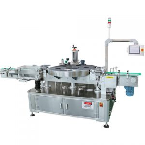 China Factory Automatic Vertical Double Sides Labeler