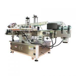 High Quality Hot Stamp Leather Label Labeling Machine