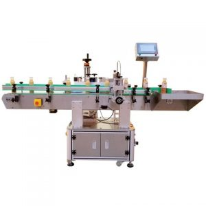 Rose Essencial Oil Bottle Wrap Around Labeling Machine