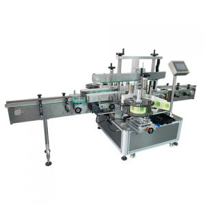 Shanghai Factory 18 Liters Painting Cans Labeling Machine
