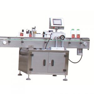 Aluminum Foil Container Labeling Machine