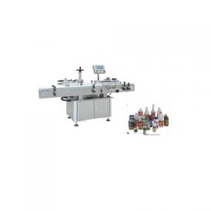 Automatic Round 120ml Plastic Bottle Labeling Machine Factory