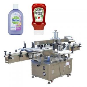 Adhesive Spirits Liquid Bottle Labeling Machine For Wine