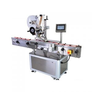 Automatic Sticker Flat Bottle Two Side Labeling Machine