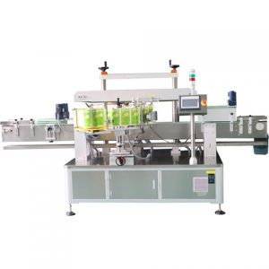Auto Cleaner Liquid Bottle Labeling Machine