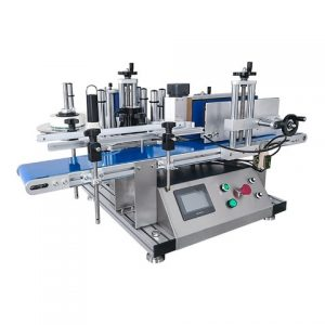 Automatic Flat Bottles Automatic Labeling Machine