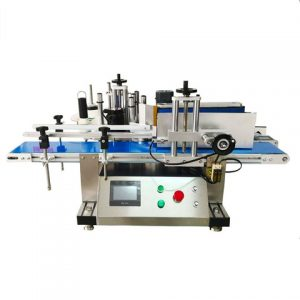 Automatic Two Sides Adhesive Sticker Labeling Machinery