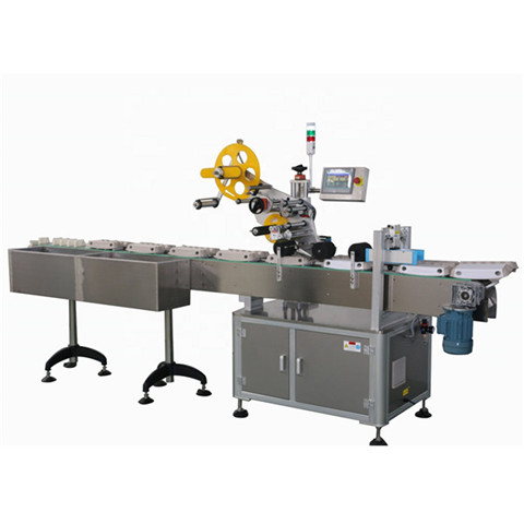 Front, Back, Top, Bottom Sticker Labeling Machine