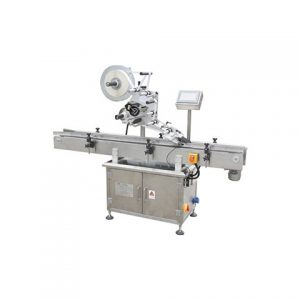 Flat Container Box Bag Labeling Machine