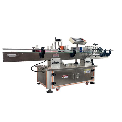Adhesive Labeling Machine For Plastic Bottles / Labeling ...