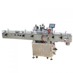 Zip Plastic Bag Labeling Machine