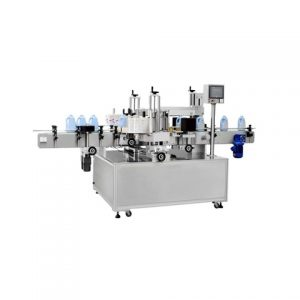 Automatic Adhesive Labeling Machine For Round Bottles